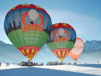 Ballonvaart in Oostenrijk